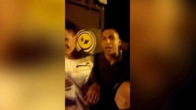Escándalo con otro ex Boca: insultó a una mujer y quiso pegarle