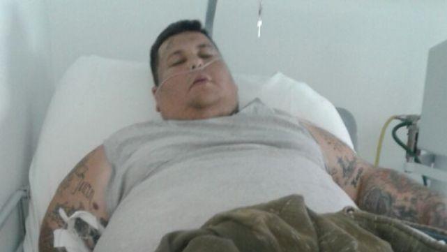 Pesa 230 kilos y se queda sin un lugar para vivir