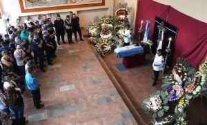 El último adiós al policía fusilado en Córdoba