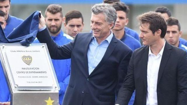 En medio de la polémica con Boca, Macri recibió a Guillermo en Casa Rosada