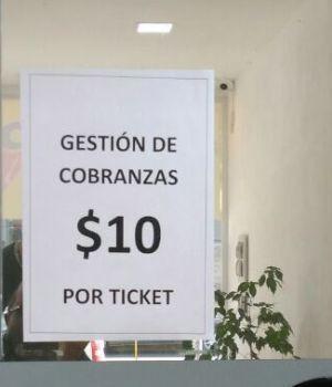 Insólito: cobran los tickets que emiten