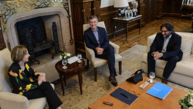 Macri recibió a su candidata a procuradora general