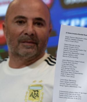 ¡Traigan la Copa! Los 23 que eligió Sampaoli para ganar el Mundial