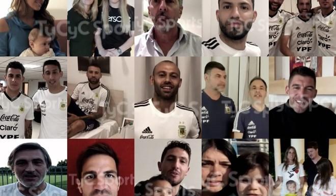 Los 48 besos para Messi