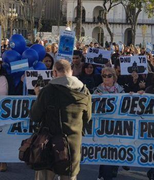 A 8 meses de la desaparición del ARA San Juan, marchas con fuertes críticas al Gobierno