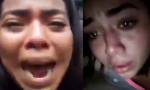 Alumnos se despiden de familiares mientras son atacados por la Fuerza nicaragüense