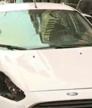 Con este auto el abogado atropelló y mató el turista francés