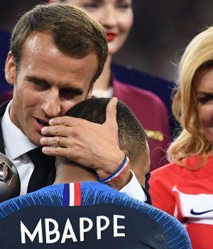El presidente francés les dijo