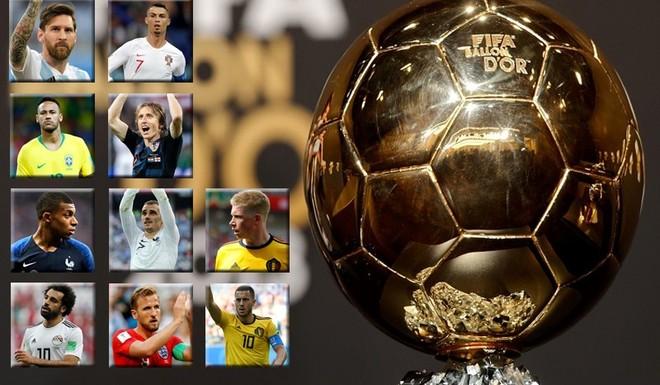 Los diez candidatos al Balón de Oro