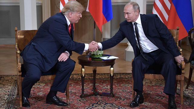 Trump y Putin se reunieron en Helsinki