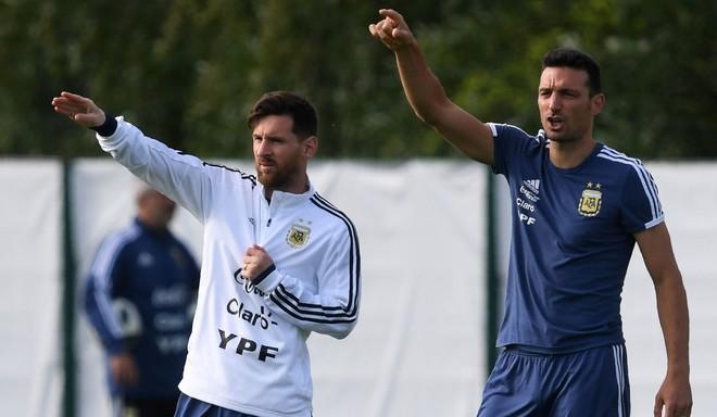 """""""No hablé con Messi sobre el futuro"""""""