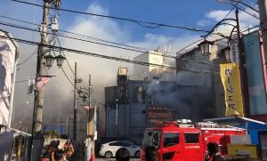 Cuatro muertos por incendio en prostíbulo