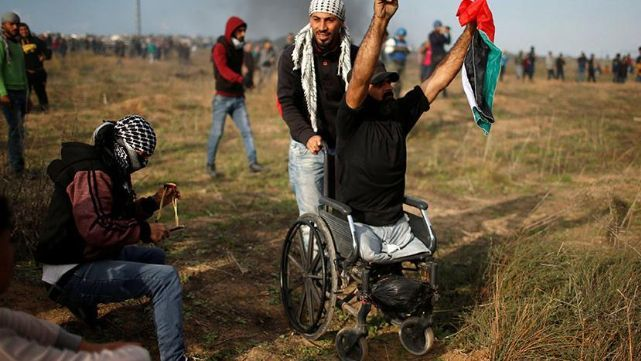 Ejército israelí asesinó a activista palestino sin piernas