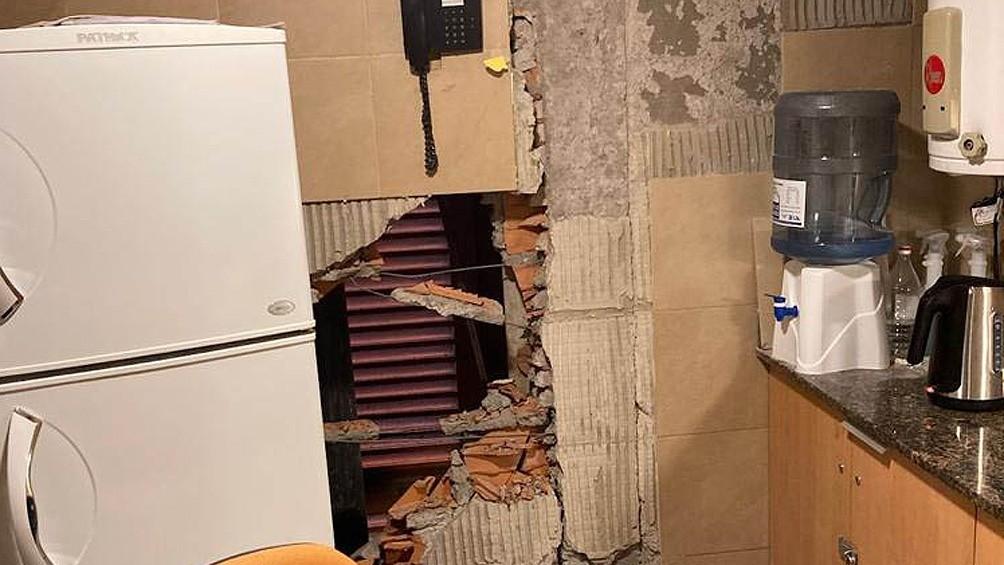 El sismo sólo produjo