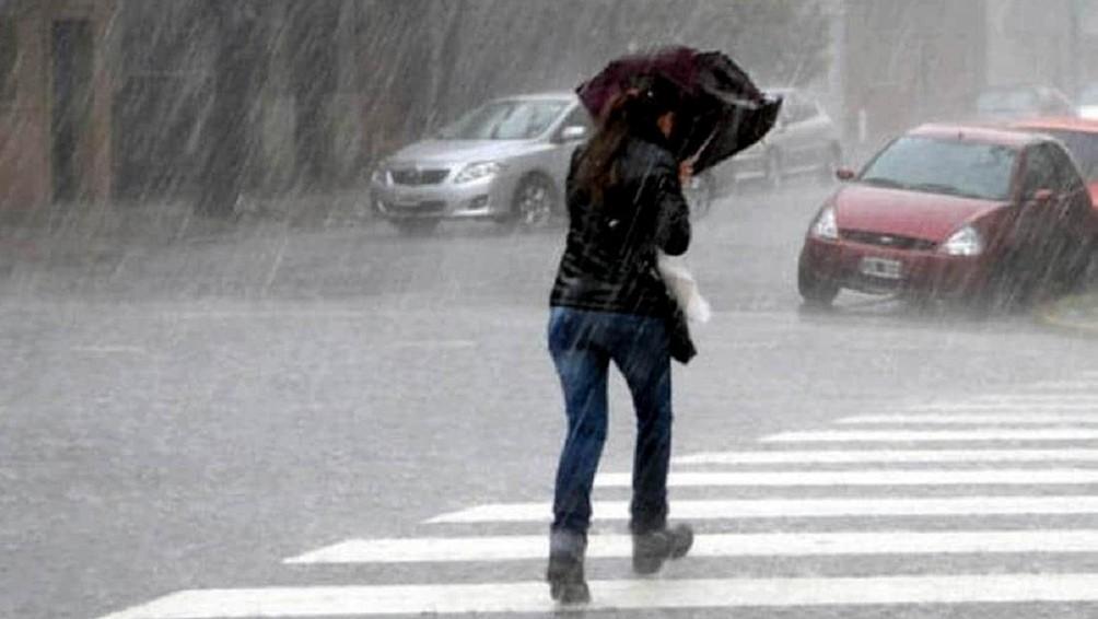 Alertas del Servicio Meteorológico Nacional de tormentas para 17 provincias