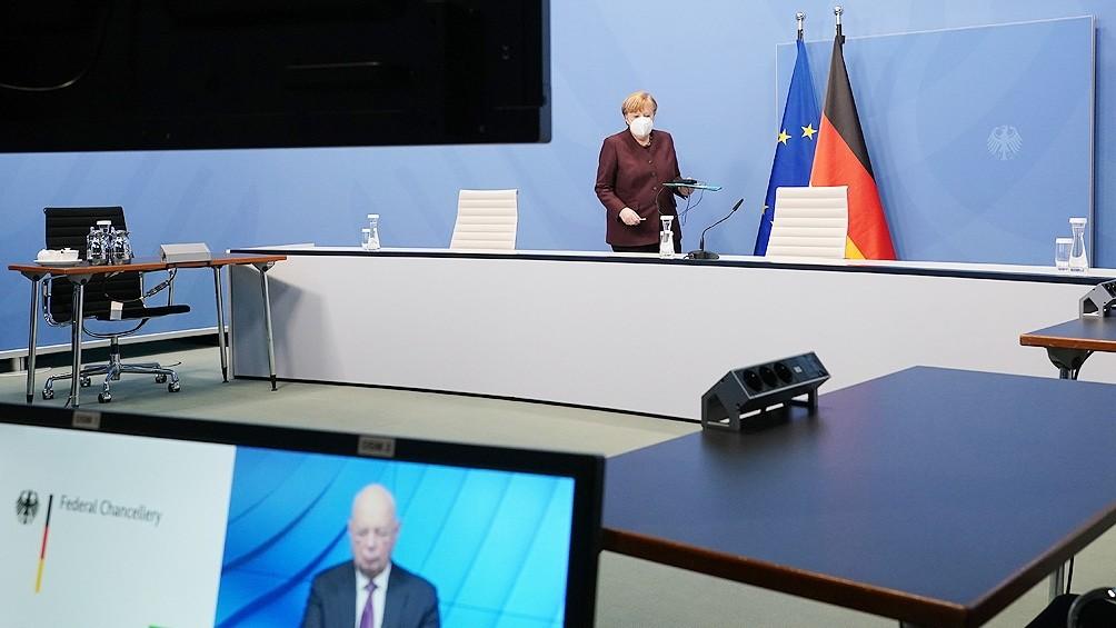 Merkel pide una