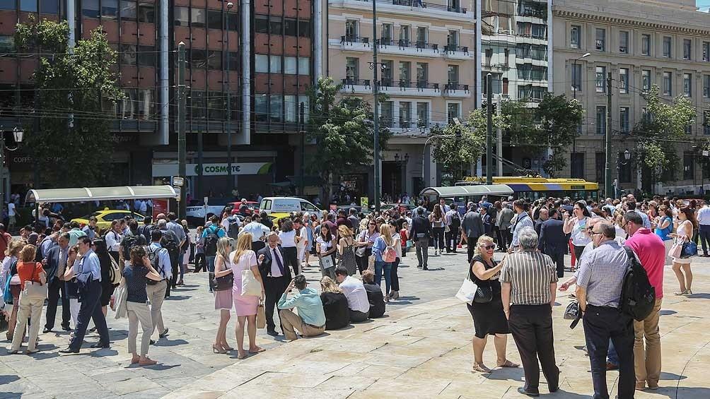 Un terremoto de 5,9 grados de magnitud volvió a sacudir el centro de Grecia