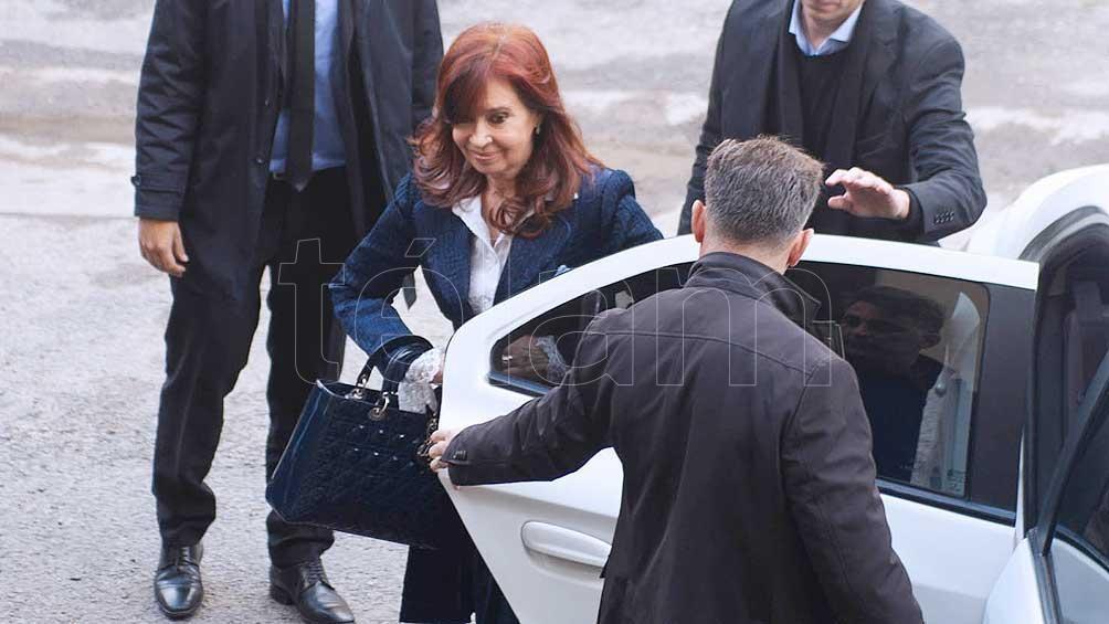 Cristina Kirchner pidió autorización para no concurrir el lunes a la audiencia