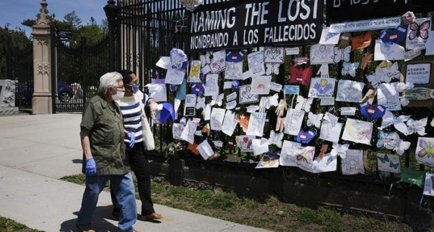 EE.UU. quedó al borde de los 100.000 muertos y la pandemia no da tregua