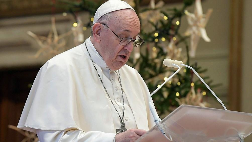 El Papa pidió la suspensión de derechos de propiedad intelectual de las vacunas anticovid