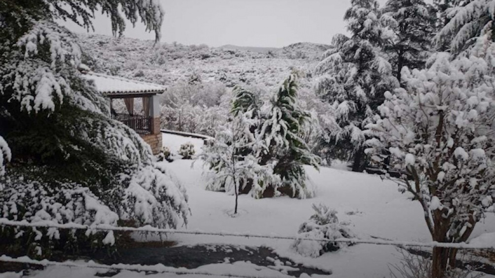Las nevadas y las bajas temperaturas se extendieron en muchas zonas del país