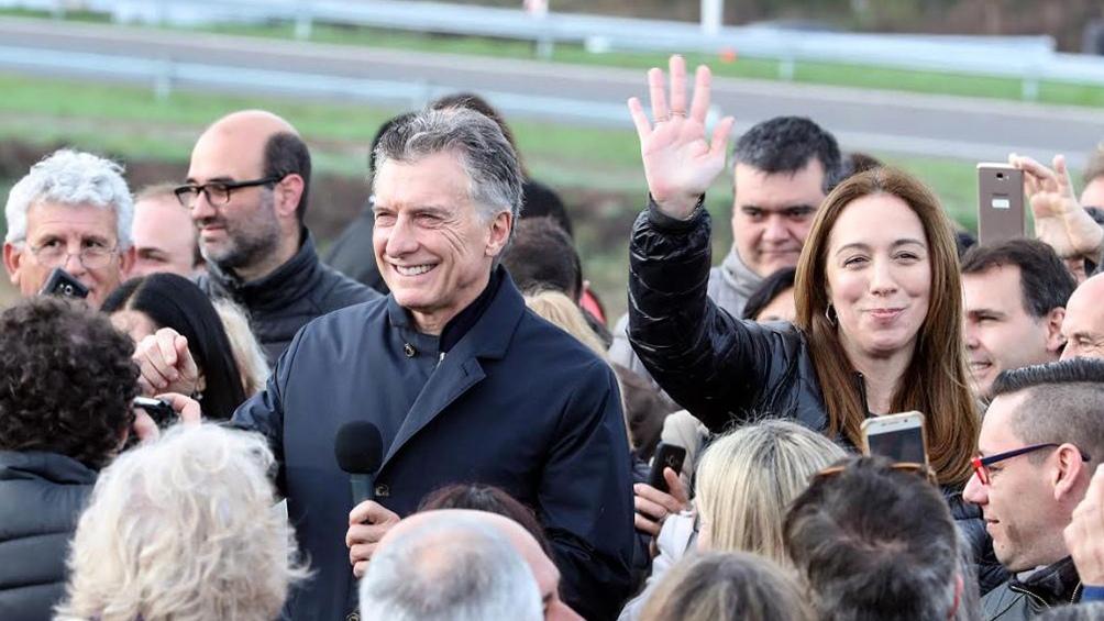 Con la presencia del presidente Macri, Vidal lanza su campaña en La Plata