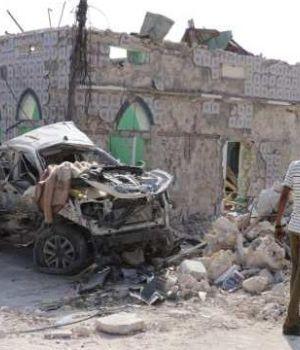 Diez muertos por atentado terrorista contra hotel de Somalia