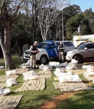 Golpe al narcotráfico: secuestraron 700 kilos de marihuana en Misiones