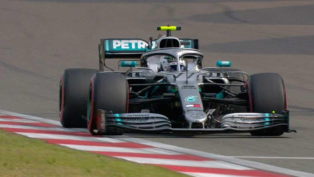 Valtteri Bottas hizo el mejor tiempo en Silverstone