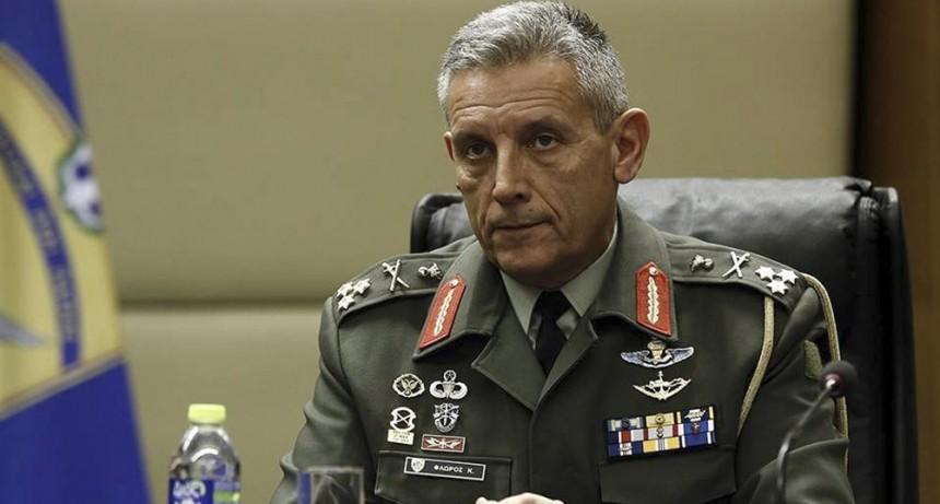 El jefe del Ejército griego alertó del peligro de que se produzca un