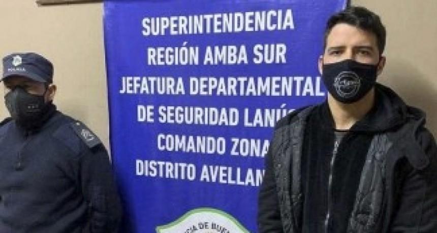 Detuvieron al exfubolista Alexis Zárate tras el rechazo de la Corte a su recurso extraordinario