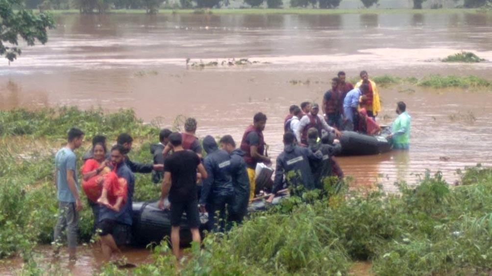 India: al menos 36 fallecidos y decenas de desaparecidos por las lluvias del monzón
