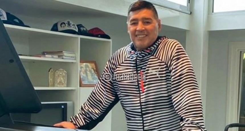 Maradona ya piensa en la vuelta a los entrenamientos