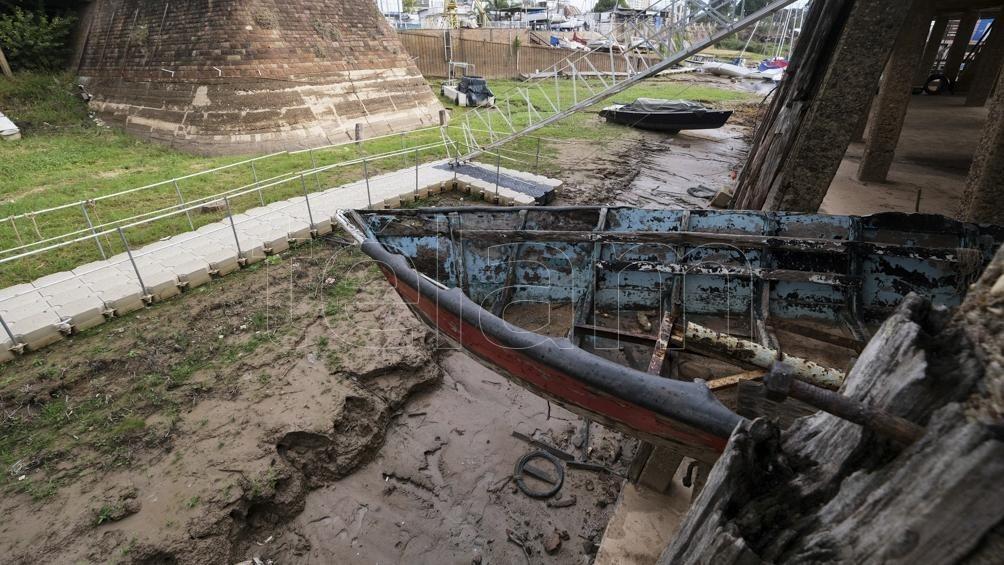 Con -30 centímetros frente a Paraná, el río continúa bajando en Entre Ríos y se acerca a niveles históricos