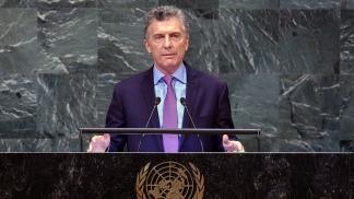 Macri viajará el lunes a Estados Unidos para participar de la Asamblea General de la ONU