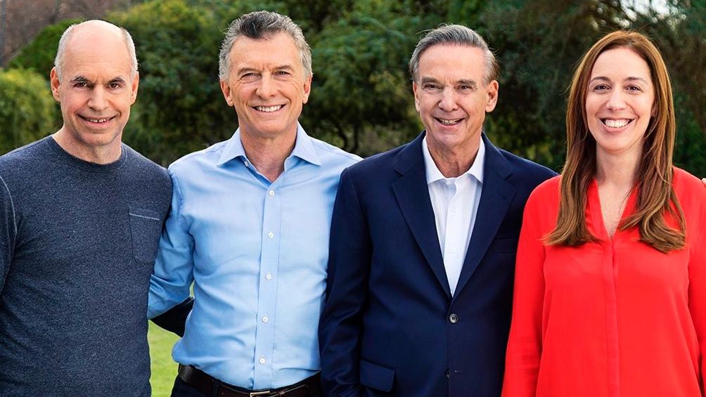 Macri y los principales dirigentes oficialistas lanzaron un nuevo spot