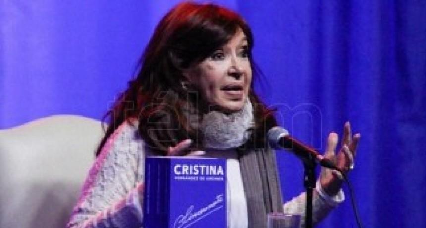 Cristina Fernández pidió que la deuda la paguen