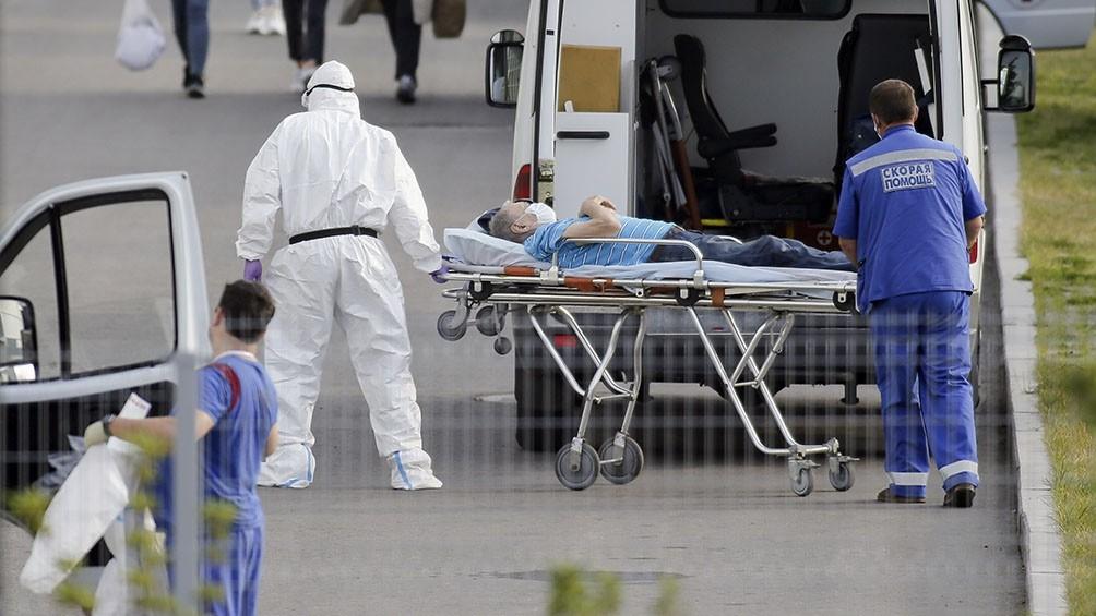 Rusia registra más de 15.000 casos diarios por segunda vez en la pandemia