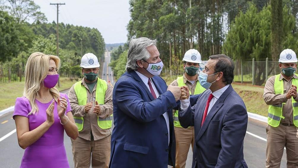 En Misiones, el Presidente inauguró obras y destacó la necesidad de proteger la selva tropical