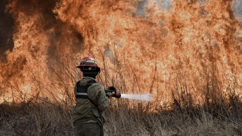 San Luis, Catamarca, Jujuy y La Rioja registraron focos activos de incendios forestales