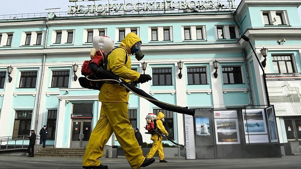 Rusia marcó un nuevo récord de muertes por coronavirus