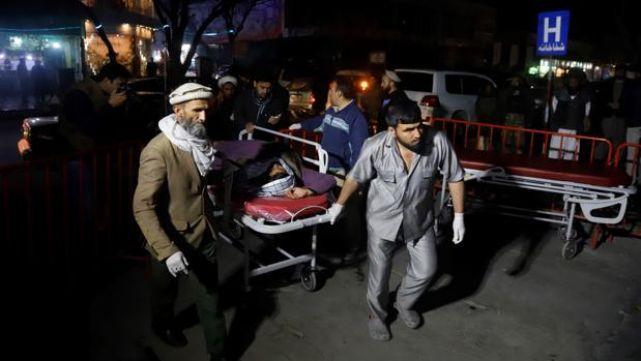 Atentado con explosivos en salón de bodas deja 40 muertos
