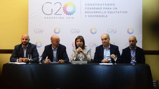 Detalles del megaoperativo de seguridad para el G20
