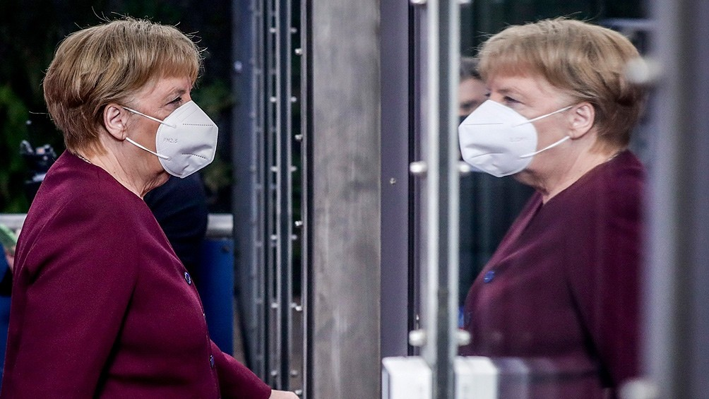 Merkel, optimista respecto de la vacunación para frenar la pandemia